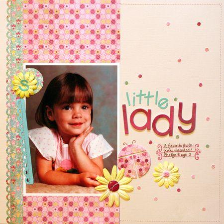 Sharyn Carlson_August_Layout_Little Lady_07.22.09