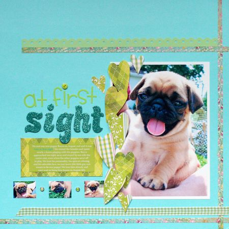 Sharyn Carlson_August_Layout_Love at First Sight_08.10.09