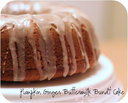 Bundt Cake Close Up