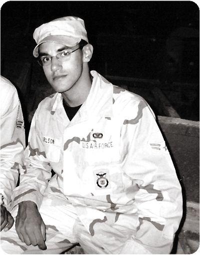 Steve in Uniform