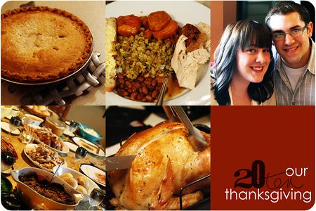 Thanksgiving collage 2010