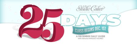 Studio Calico 25 Days