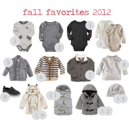 Baby boy style fall 2012