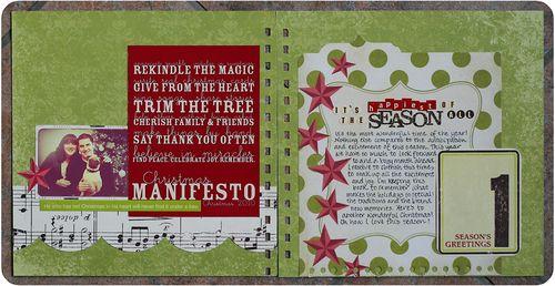 december 01: christmas manifesto
