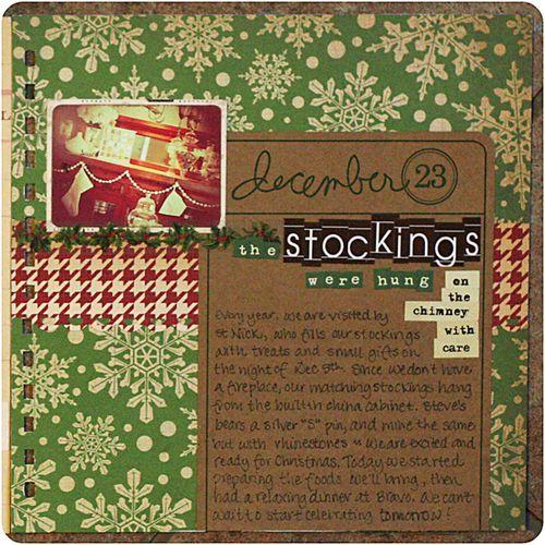 december 23: stockings