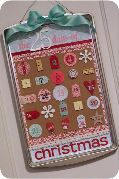 cookie cutter advent calendar