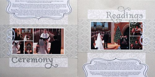 ceremony & readings